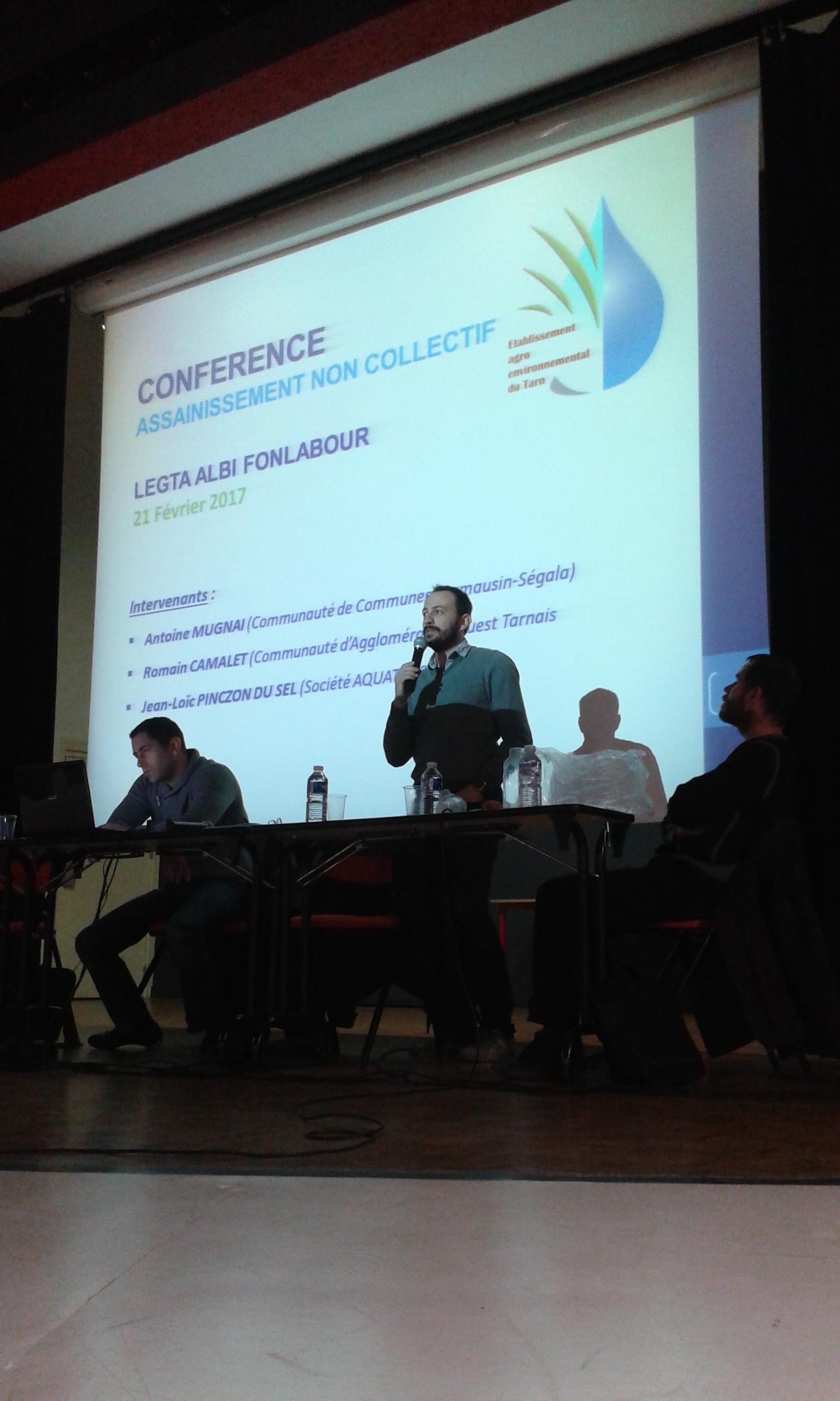 Conf rence sur l assainissement non collectif licence - Bureau d etude assainissement non collectif ...